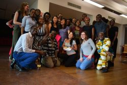 "African students in IDD celebrate ""Africa Day"""