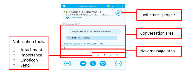 Flexible and home working: Skype for Business – instant