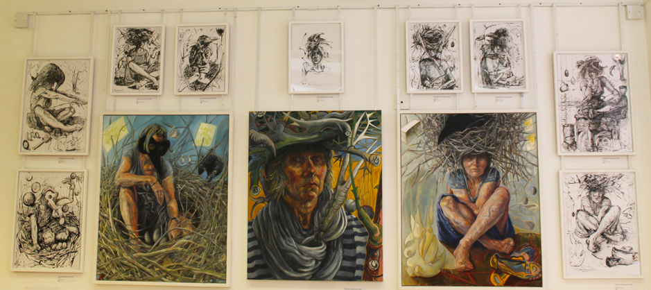 Gabrielle Roberts-Dalton, RBSA Exhibition: Menopause: A Change In Life