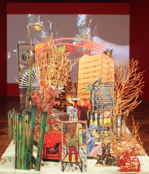 Melanie Tomlinson at the Wolverhampton Museum and Art Gallery