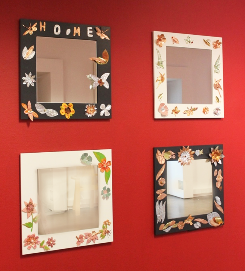 Petals Group, Decorative Mirrors, 2018