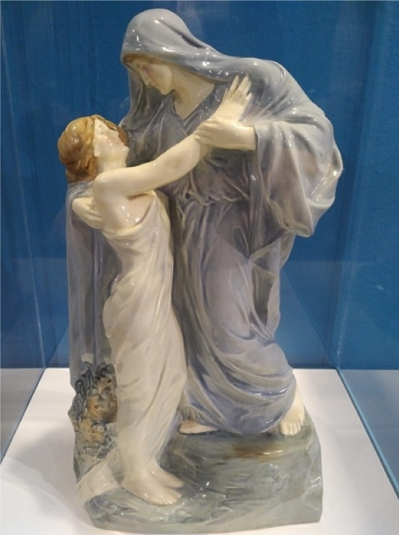 Royal Doulton, 'The Return of Persephone', The Potteries Museum and Art Gallery, 2018