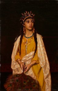 Sophie Anderson, 'Toklihili: The Young Indian Princess' (undated, The Joey and Toby Tanenbaum Collection, Art Gallery of Hamilton)
