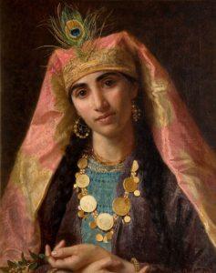 Sophie Anderson, 'Scheherazade' (undated, New Art Gallery Walsall)