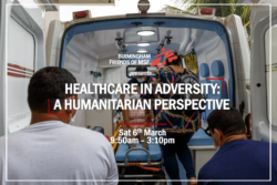 Guest Blog: Healthcare in Adversity: A Humanitarian Perspective