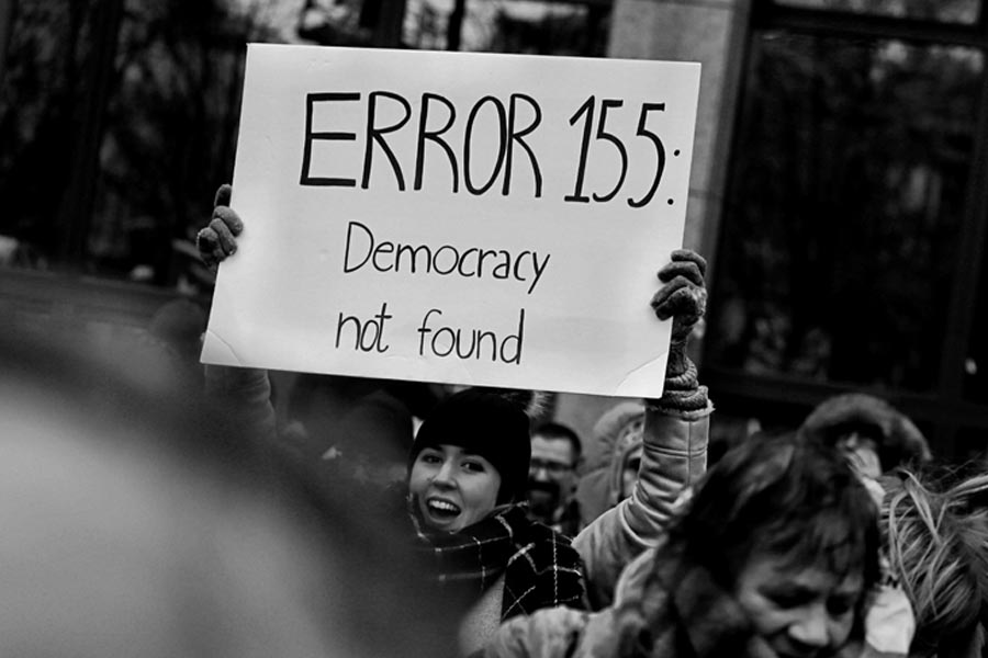 VIDEO AND PODCAST: Is democracy better in theory than practice?