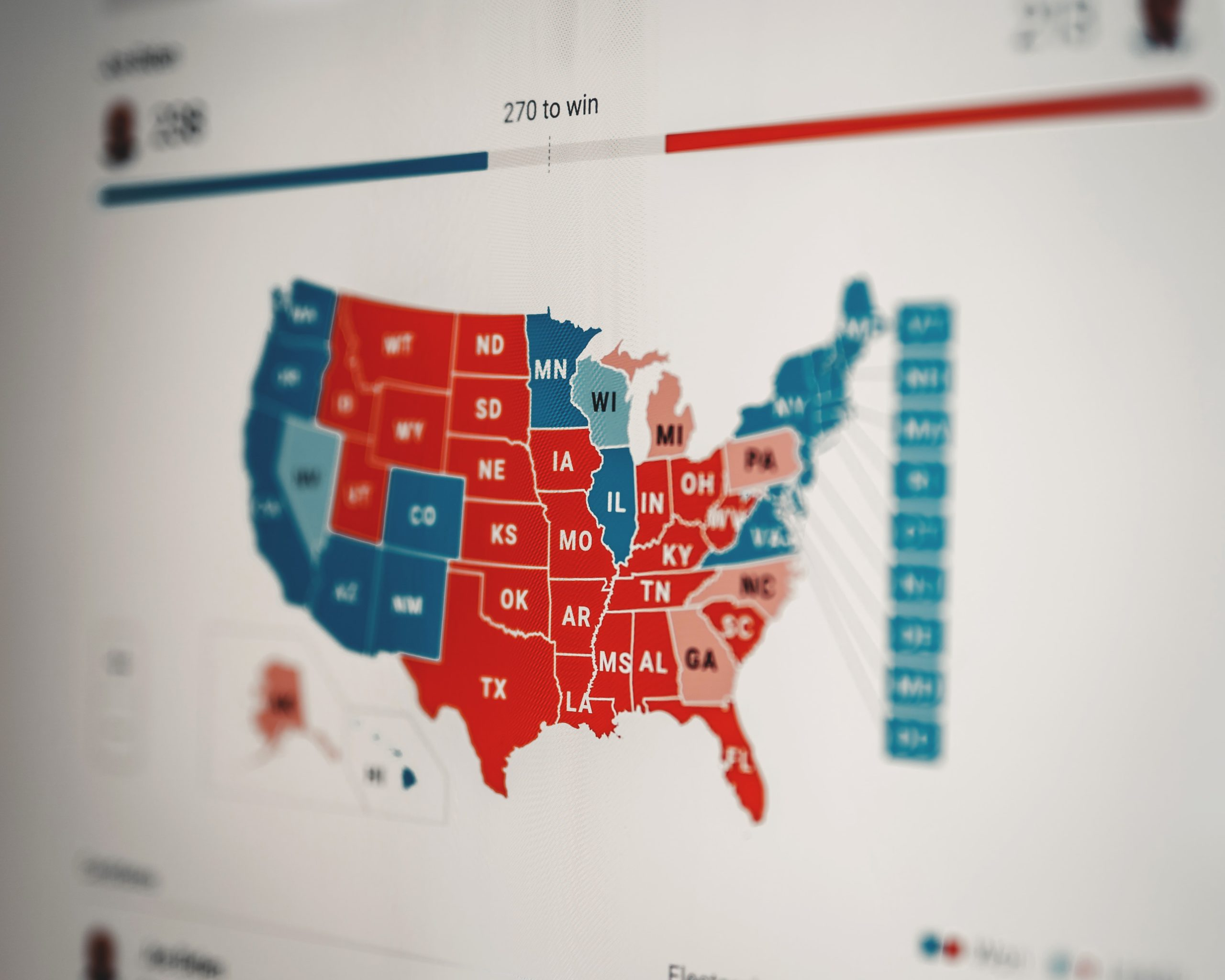 US Election results