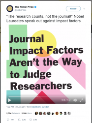 Can we ignore the journal impact factor?
