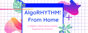 AlgoRYHYTHM From Home event poster