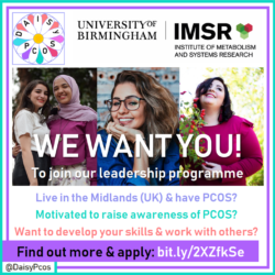 DAISy-PCOS Leadership Programme – We want you!