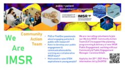 We Are IMSR: Community Action Team!